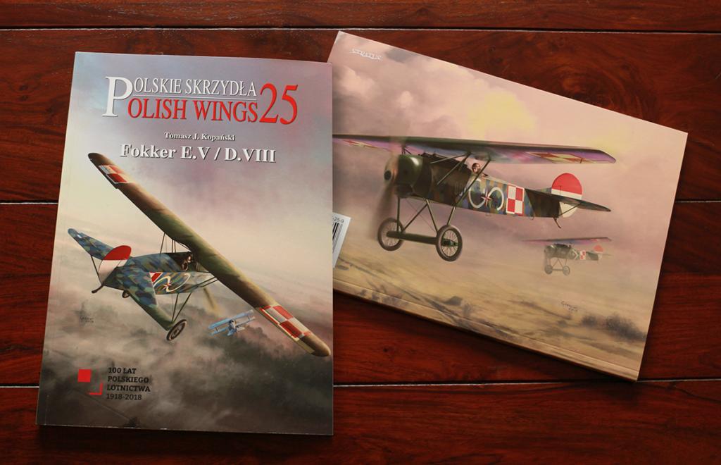 Fokker EV Polish Wings 25 books