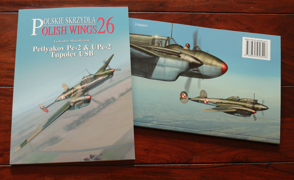 Petlyakov Pe-2 Polish Wings 26 books