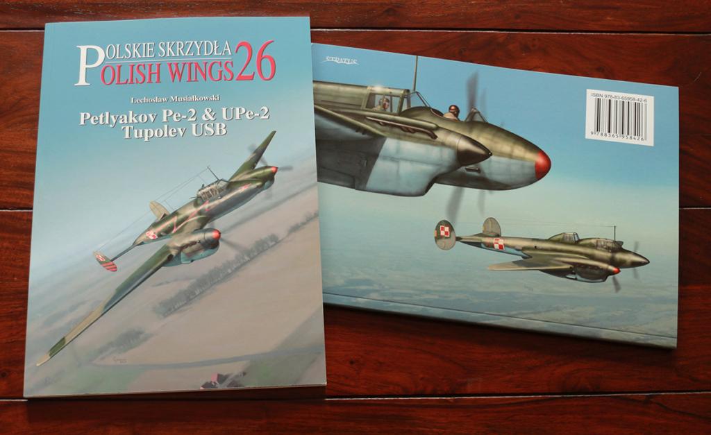 Petlyakov Pe-2 Polish Wings 26 books