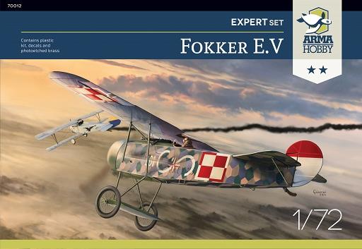 Fokker E.V. Arma Hobby boxart