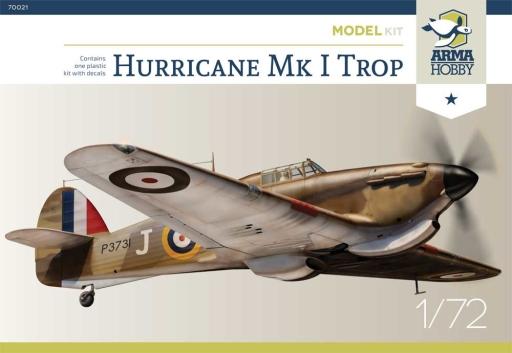 Hurricane Mk I Trop Arma Hobby boxart