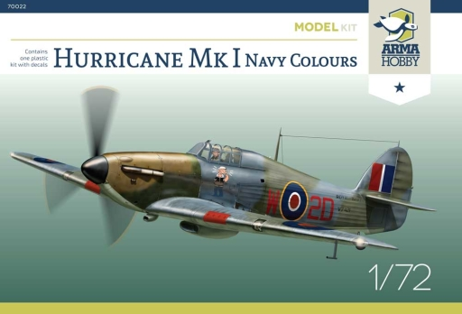 Hurricane Mk I Arma Hobby boxart