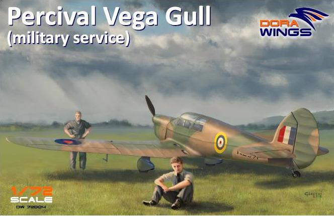 Percival Vega Gull Dora Wings boxart
