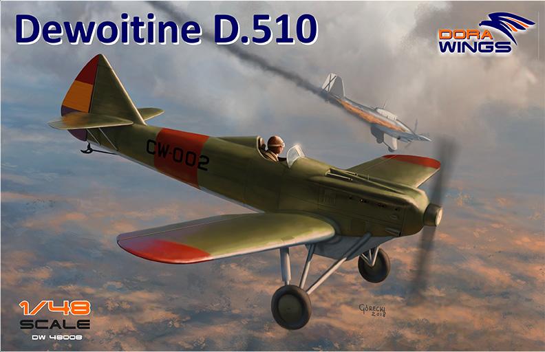 Dewoitine D.510 Dora Wings boxart