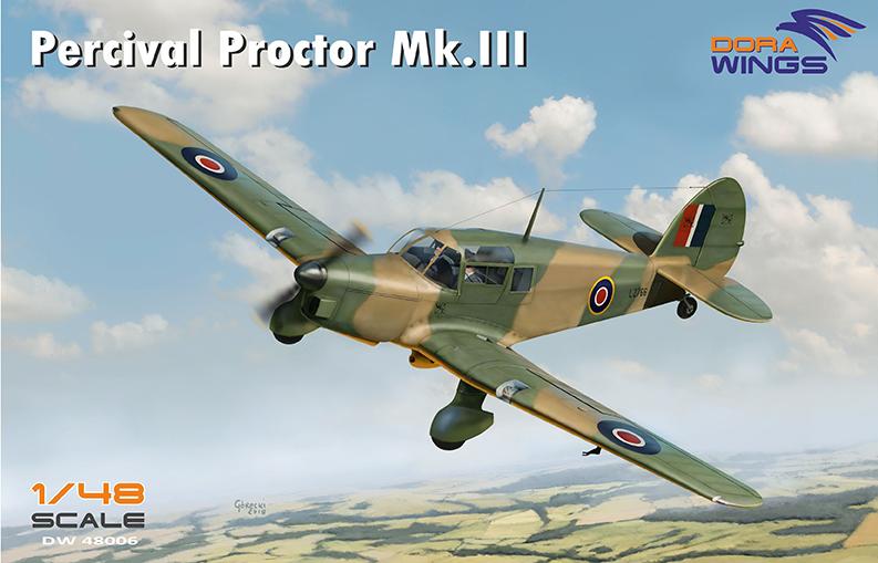 Percival Proctor Mk III Dora Wings boxart