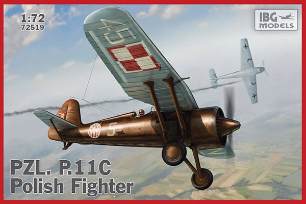PZL P.11c IBG boxart