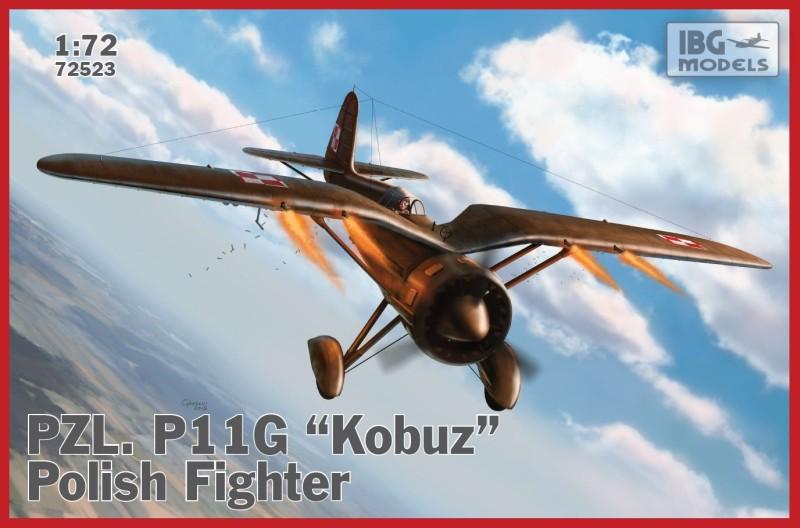 PZL P.11g Kobuz IBG boxart