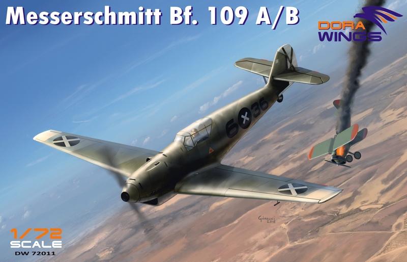 Messerschmitt Bf.109A/B Dora Wings boxart