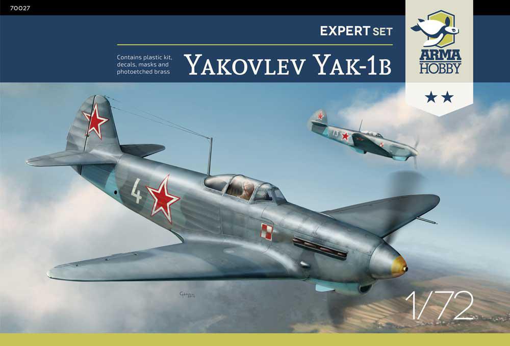 Yak-1b Arma Hobby boxart