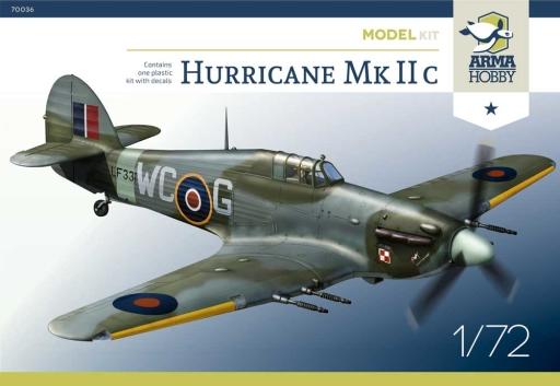 Hurricane Mk IIc Arma Hobby boxart