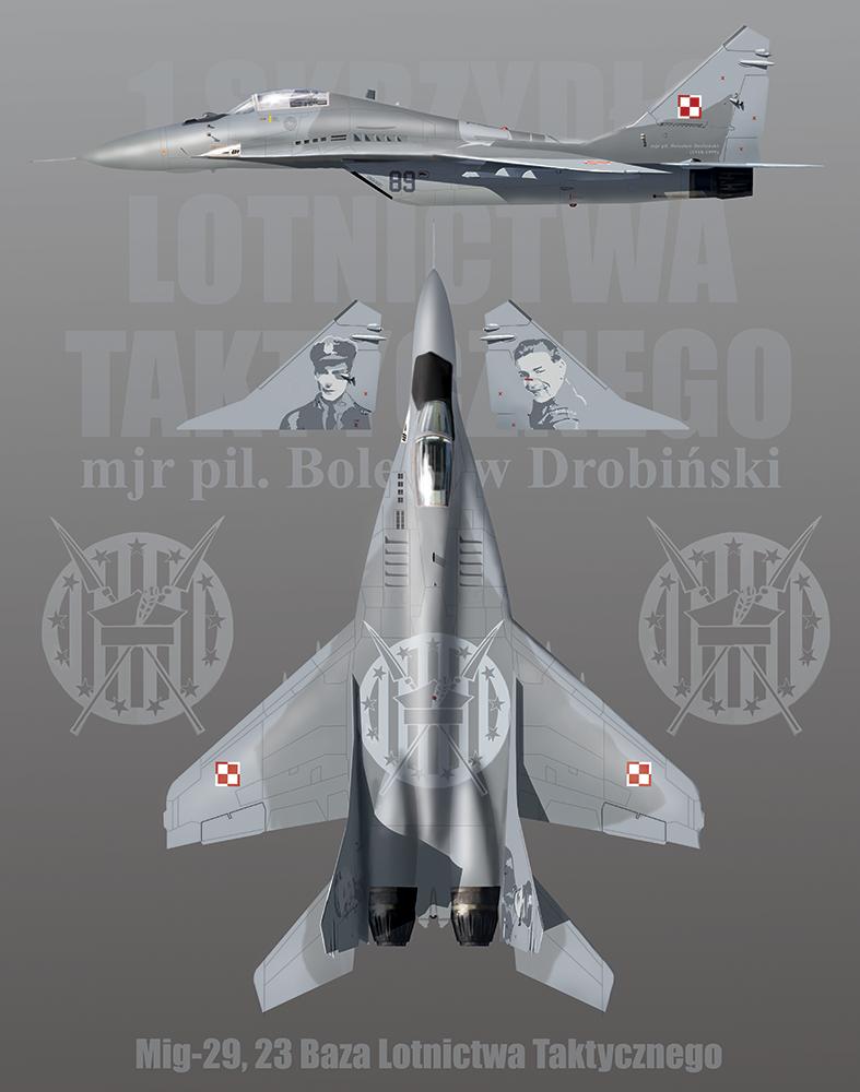 Mig-29 23 Baza Lotnictwa Taktycznego profile